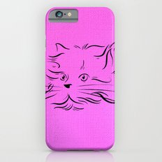 Cat Lines iPhone 6 Slim Case