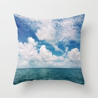 Mosquito Reef Throw Pillow