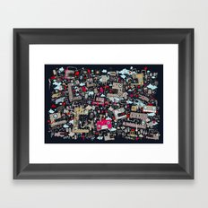 MIxedDraw Framed Art Print