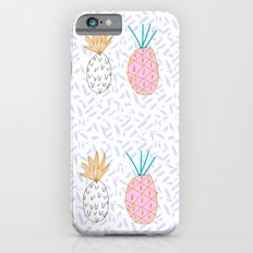 Pineapple. Illustration, print, pattern, fruit, design, fun, Slim Case iPhone 6s