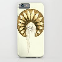 iPhone & iPod Case featuring twin - gold by mloyan