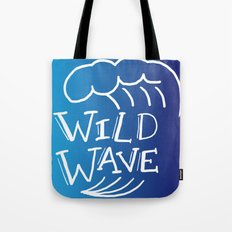 Wild Wave Tote Bag