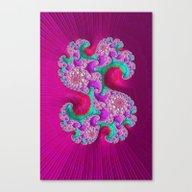 Pink Frenzy Canvas Print