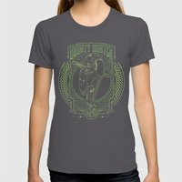 Bounty Hunter Womens Fitted Tee Asphalt SMALL