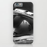 iPhone & iPod Case featuring Her first day in Chicago by matthew nash