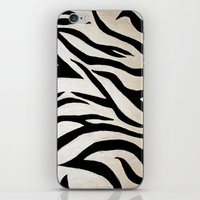 Tyger Stripes iPhone & iPod Skin