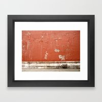 The Abandoned Bicycle Framed Art Print