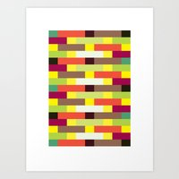 Brickwall (2013) Art Print