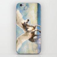 Pegasus Taking Flight iPhone & iPod Skin