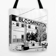 bloomington I Tote Bag