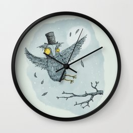 Wall Clock - 'Mr Owl' - Alex G Griffiths