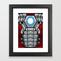 Lego Mark V Framed Art Print