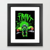 the tmnt Framed Art Print