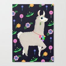 Lulee Llama Canvas Print