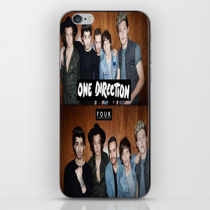 """One direction """"four"""" album cover iPhone & iPod Skin by ..."""