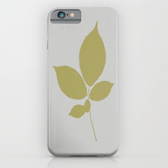 Vert et feuille d'or iPhone & iPod Case