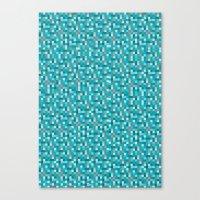 Pixel Art 1  Canvas Print