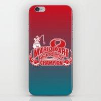 Mario Kart 8 Champion iPhone & iPod Skin