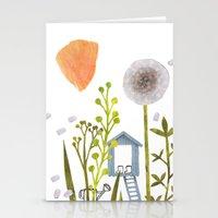 Garden Spirit Stationery Cards