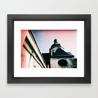 Paris: Eglise Saint Paul… Framed Art Print