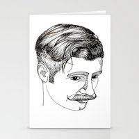 haircut 60's Stationery Cards