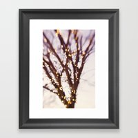 Light Me Up Framed Art Print