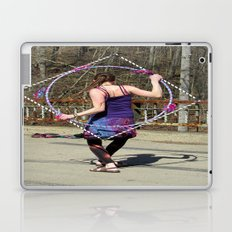 The Circle Inside the Square (Hula Hoop Series) Laptop & iPad Skin