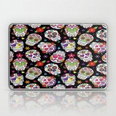 Colorful Sugar Skulls Laptop & iPad Skin