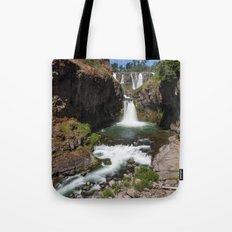 White River Falls Tote Bag