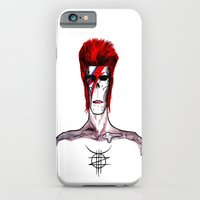 Zed Mercury, 'Aladdin Sane' Bowie tribute iPhone 6 Slim Case