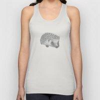 Hedgehog Unisex Tank Top