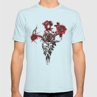 Cervine Mens Fitted Tee Light Blue SMALL