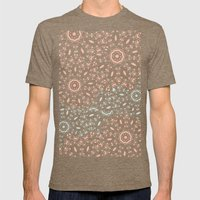 Lace Mens Fitted Tee Tri-Coffee SMALL