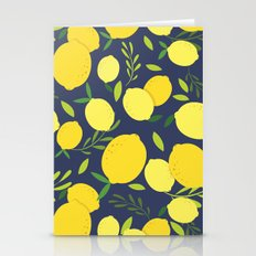 Freshly Picked Lemon Stationery Cards