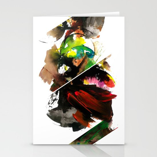 color study 1 Stationery Card