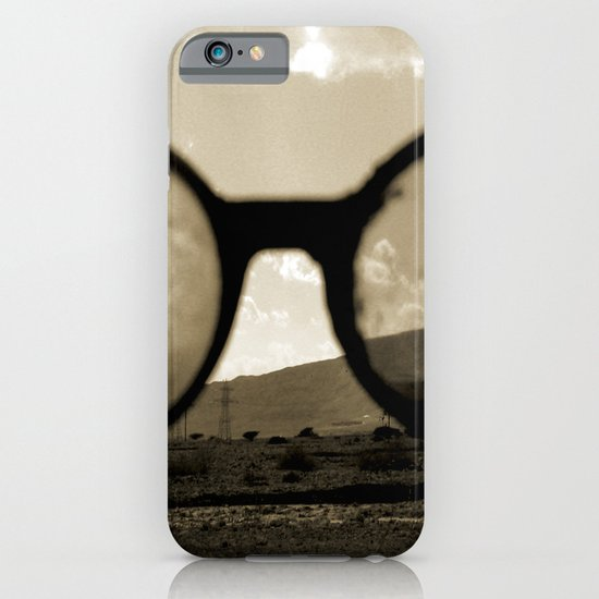 Glasses on the Horizon iPhone & iPod Case