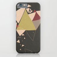 Exploding Triangles//Thr… iPhone 6 Slim Case