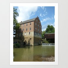 bollinger mill  Art Print
