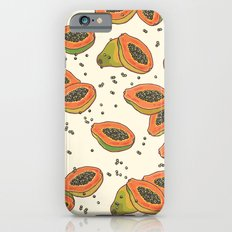 papaya pattern iPhone 6s Slim Case
