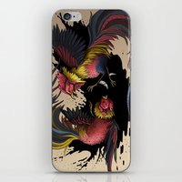 Cock Fight iPhone & iPod Skin