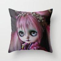LITTLE OCTOPUS CUSTOM BL… Throw Pillow