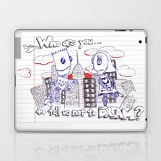 Don't tell me what to do. You're not my mom. Laptop & iPad Skin