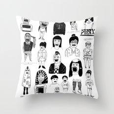 PEEPZ Throw Pillow
