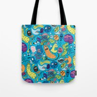 Gettin' Loose Pattern Tote Bag