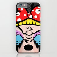 iPhone & iPod Case featuring Mickey Girl by illustrationsbynina