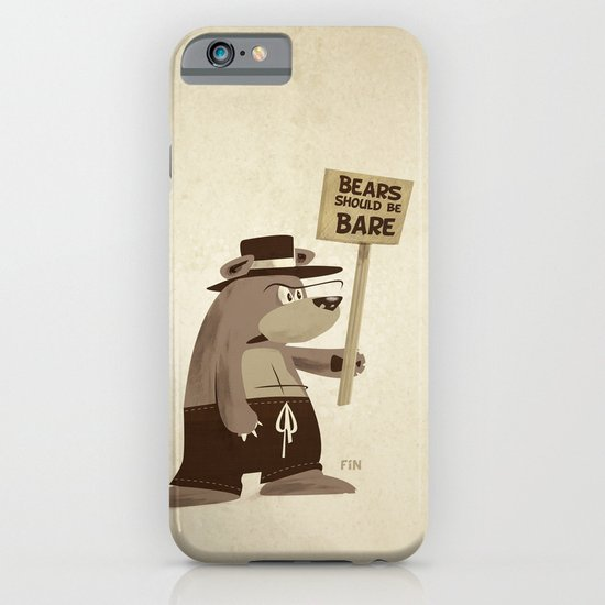 Bears want to be bare iPhone & iPod Case
