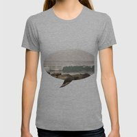 Sea Womens Fitted Tee Athletic Grey SMALL