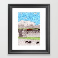 Nebraska Framed Art Print