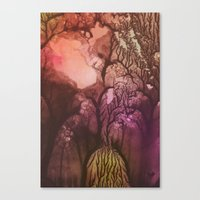 Stem 001. Canvas Print
