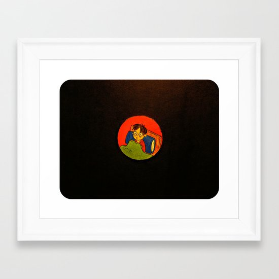 """The Idea of Nothingness"" Framed Art Print"